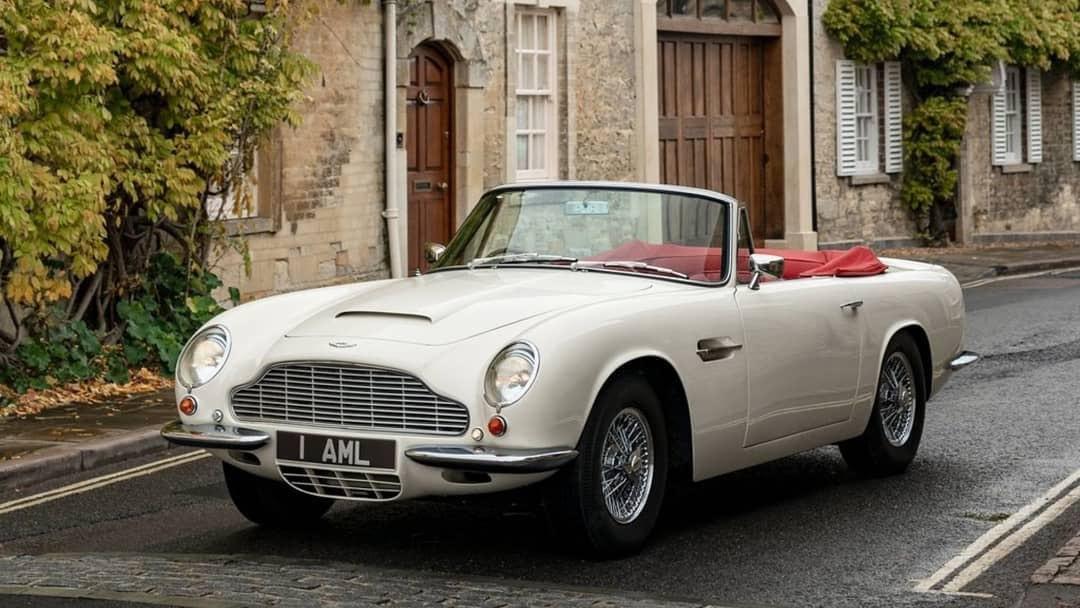 2018 Aston Martin Heritage EV