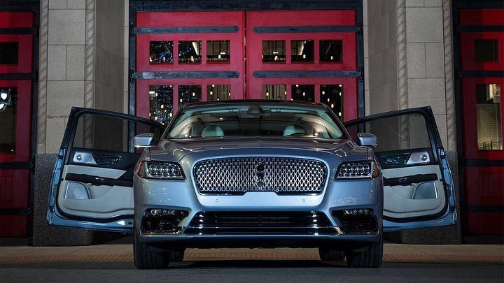 "Lincoln has confirmed production of the Continental with ""suicide doors"""