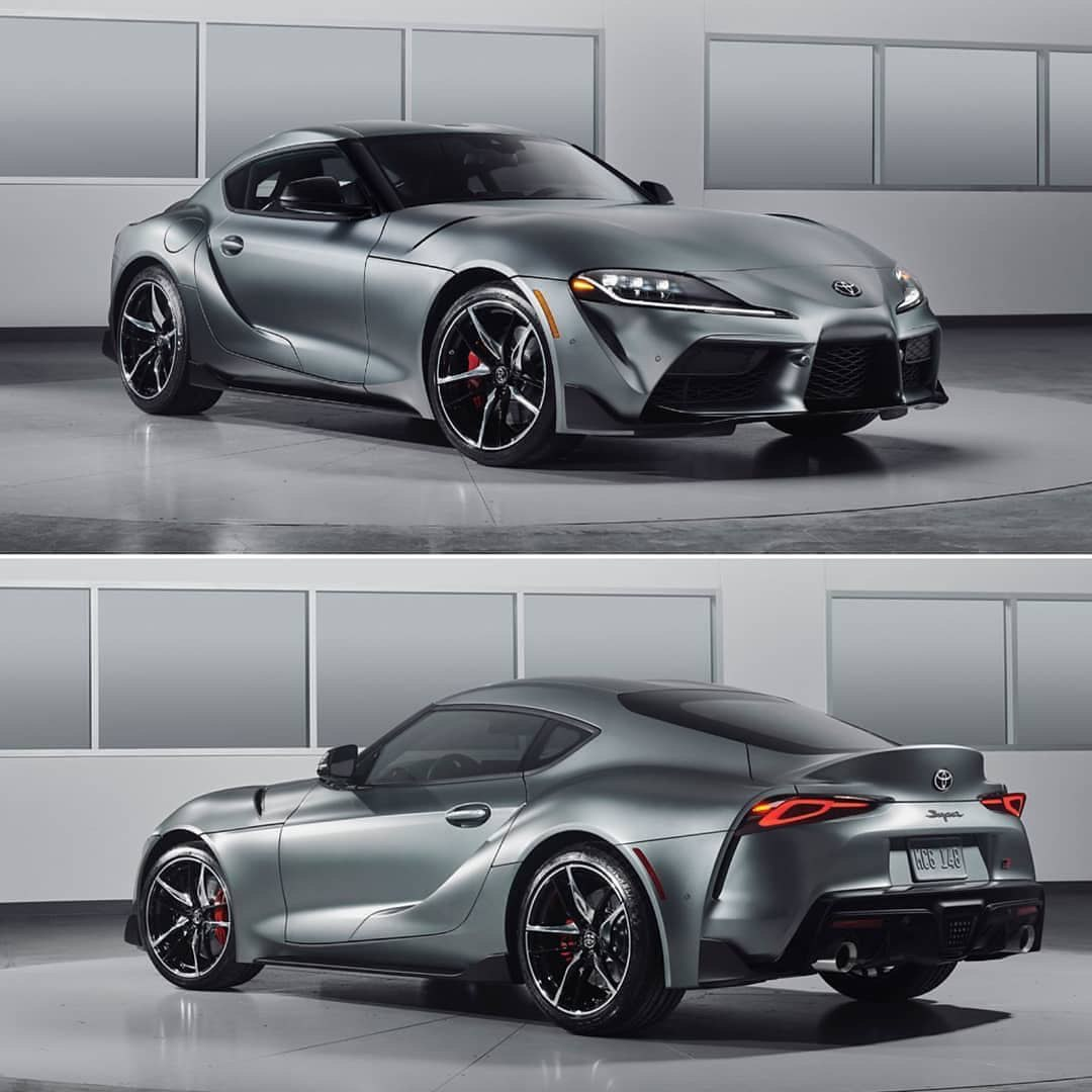 The new Toyota Supra