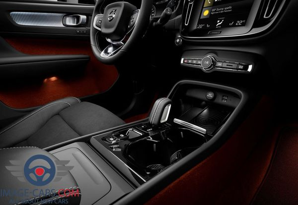 Salon view of Volvo CX 40 of 2018 year