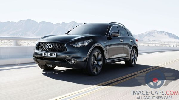 Front Left side of Infiniti QX 70 of 2018 year