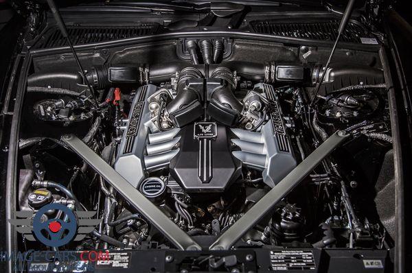 Engine view of Rolls-Royce Phantom of 2018 year