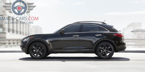 Left side of Infiniti QX 70 of 2018 year