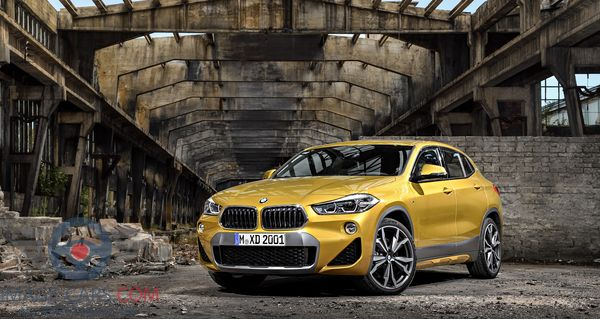 Front Left side of BMW X2 of 2018 year