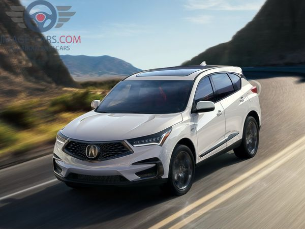 Front Left side of Acura RDX of 2018 year