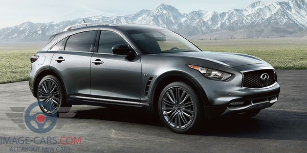 Front Right side of Infiniti QX 70 of 2018 year
