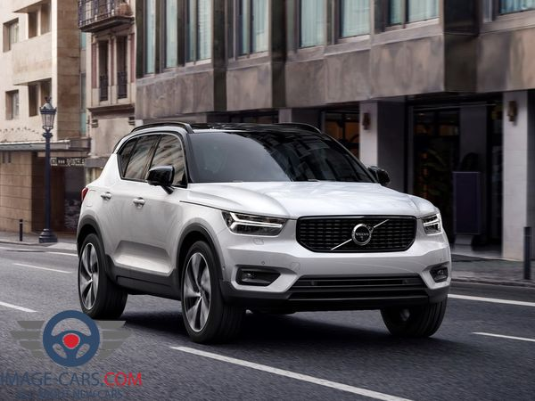 Front view of Volvo CX 40 of 2018 year