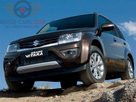 Front view of Suzuki Grand Vitara of 2018 year