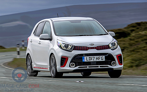 Front view of Kia Picanto of 2018 year