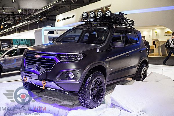 Front view of Chevrolet Niva of 2018 year