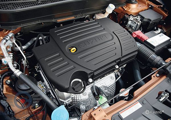 Engine view of Suzuki Grand Vitara of 2018 year