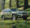 Front Right side of Subaru Outback of 2018 year