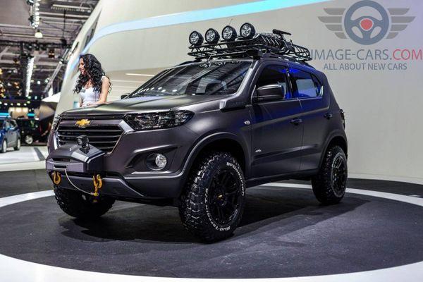 Front Left side of Chevrolet Niva of 2018 year