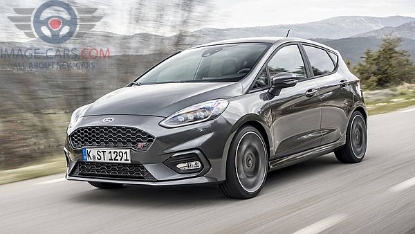 Front Left side of Ford Fiesta of 2018 year