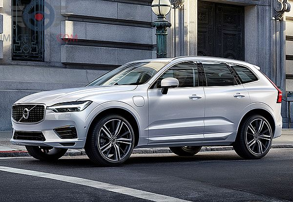 Front Left side of Volvo XC60 of 2018 year