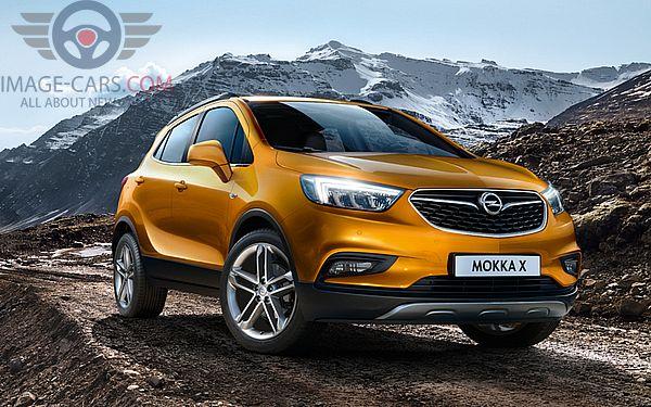 Front Right side of Opel Mokka of 2018 year