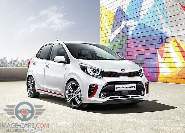Front Right side view of Kia Picanto of 2018 year