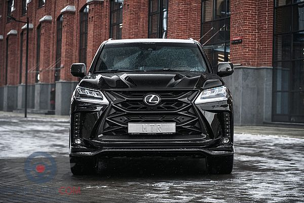 Front view of Lexus LX 570 of 2018 year