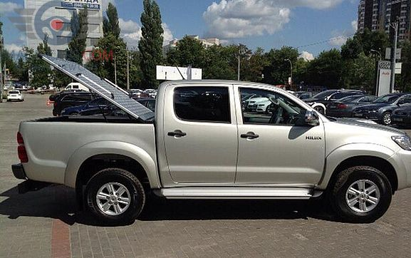 Right side of Toyota Hilux of 2018 year