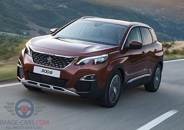 Front Left side of Peugeot 3008 of 2018 year