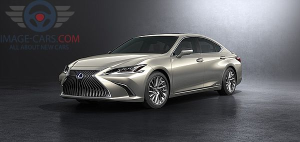 Front Left side of Lexus ES of 2018 year
