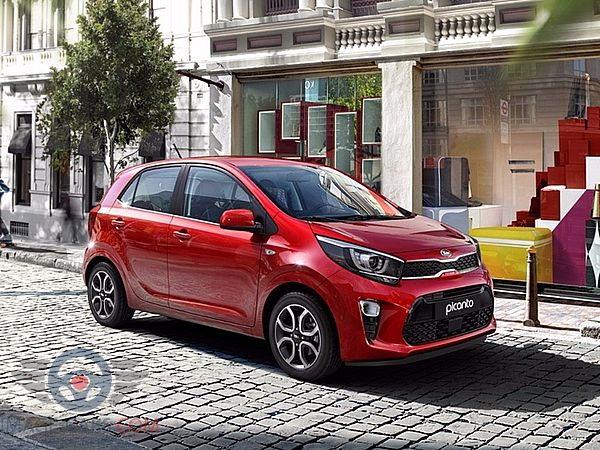 Front Right side of Kia Picanto of 2018 year