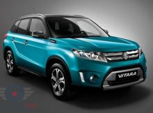 Front Right side of Suzuki Grand Vitara of 2018 year
