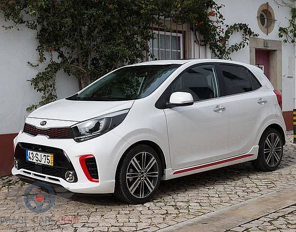 Left side of Kia Picanto of 2018 year
