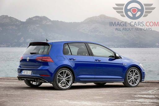 Rear Right side of Volkswagen Golf of 2018 year