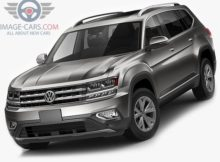 Front Left side of Volkswagen Atlas of 2017 year