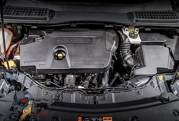 Engine view of Ford Kuga of 2018 year