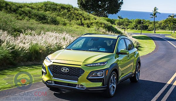 Front Left side of Hyundai Kona of 2018 year