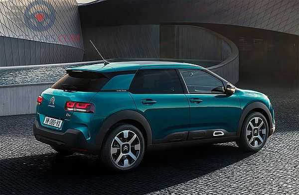 Right side of Citroen C4 Cactus of 2018 year