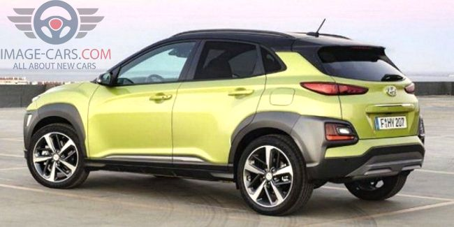 Left side of Hyundai Kona of 2018 year
