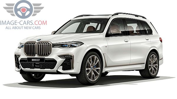 Front Left side of BMW X7 of 2019 year