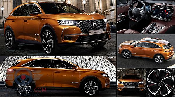 Review of Citroen DS7 Crossback of 2018 year