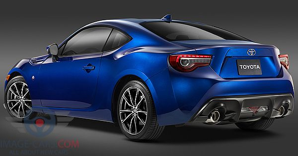 Rear Left side of Toyota GT86 of 2017 year