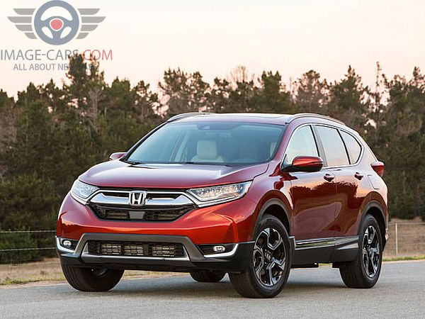 Front view of Honda CR-V of 2018 year