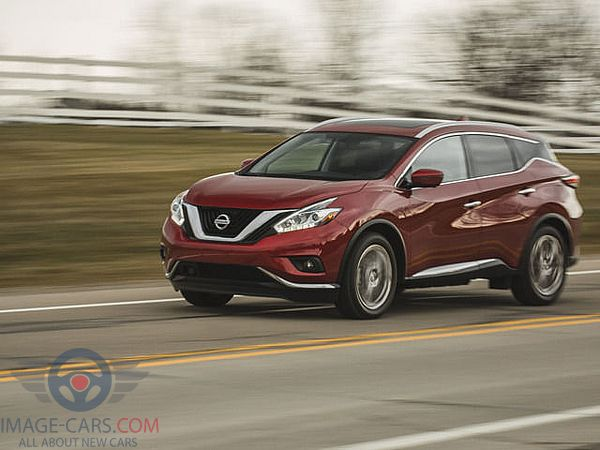 Front Left side of Nissan Murano of 2018 year