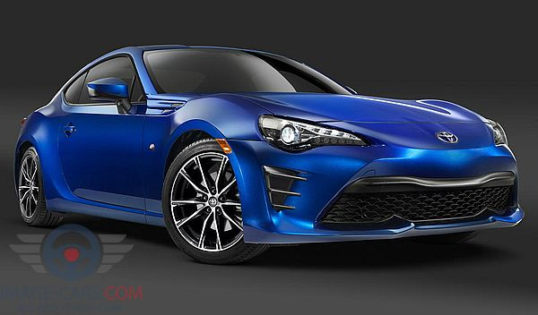 Front view of Toyota GT86 of 2017 year