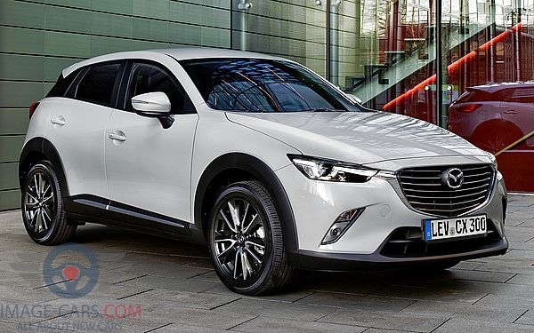 Front Right side of Mazda CX3 of 2017 year