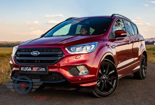 Front view of Ford Kuga of 2018 year