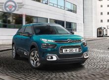 Front view of Citroen C4 Cactus of 2018 year