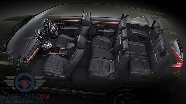 Salon view of Honda CR-V of 2018 year