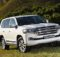 Front view of Toyota Land Cruiser 200 of 2018 year