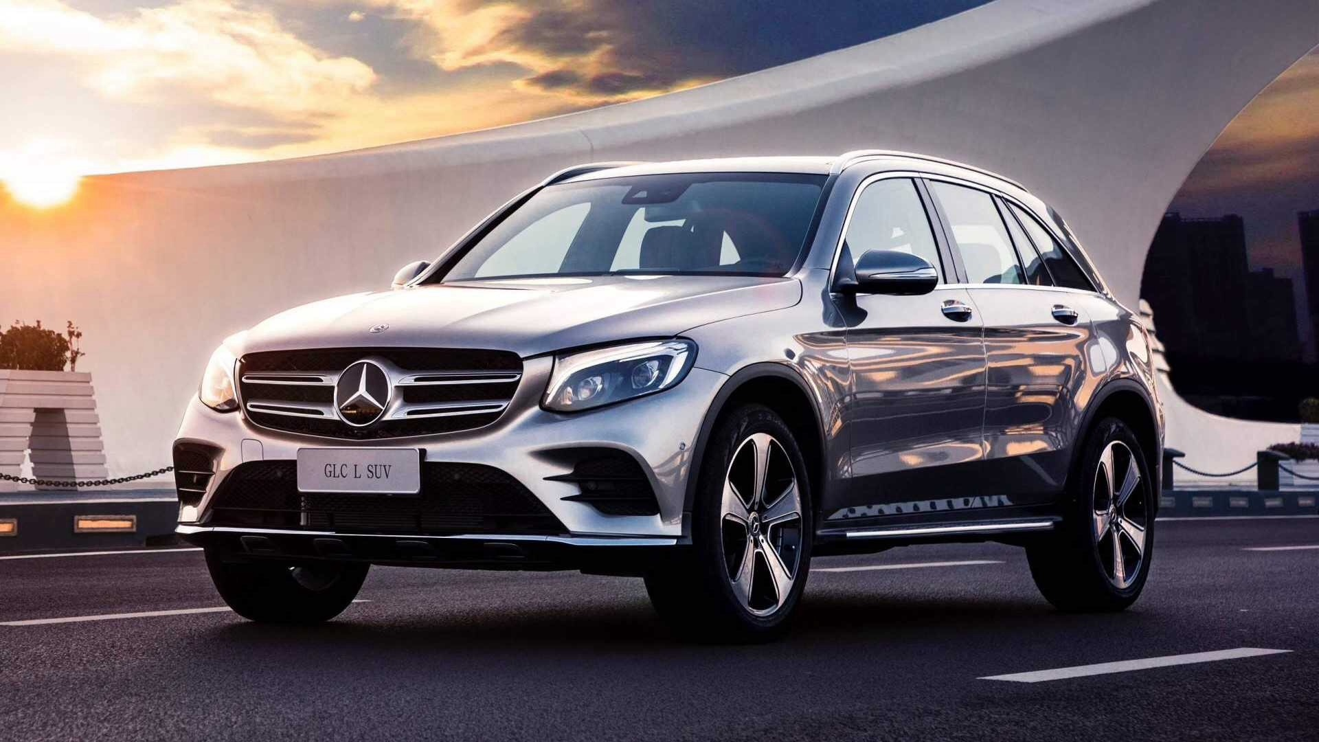 Mercedes GLC L Is A Long-Wheelbase SUV Only For China