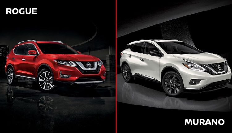 Comparison: Nissan Rogue Vs Murano