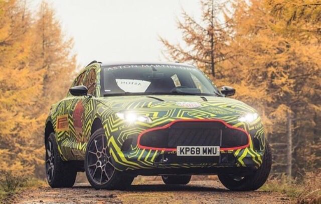 Here is the first look at the Aston Martin DBX