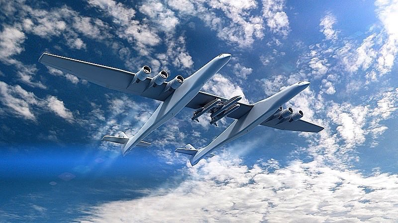 Up and coming space start-up, Stratolaunch