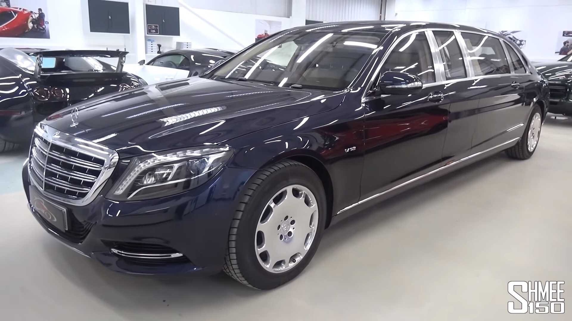 Have A Look Inside The Gigantic Mercedes-Maybach S600 Pullman